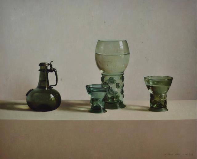 Stilleven met glas – Henk Helmantel – Art center Hoorn