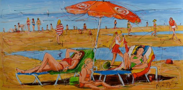 Hollands strand II – Mathias Schilder – Art center Hoorn
