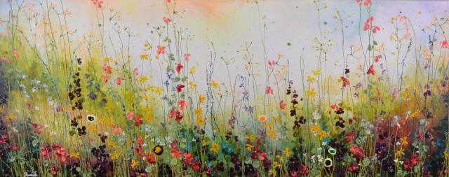 Summer Flowerfield – Yulia Muravyeva – Art center Hoorn