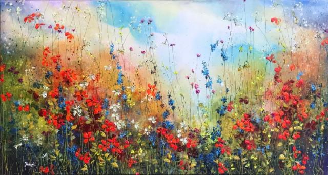 The Blue Sky – Yulia Muravyeva – Art center Hoorn