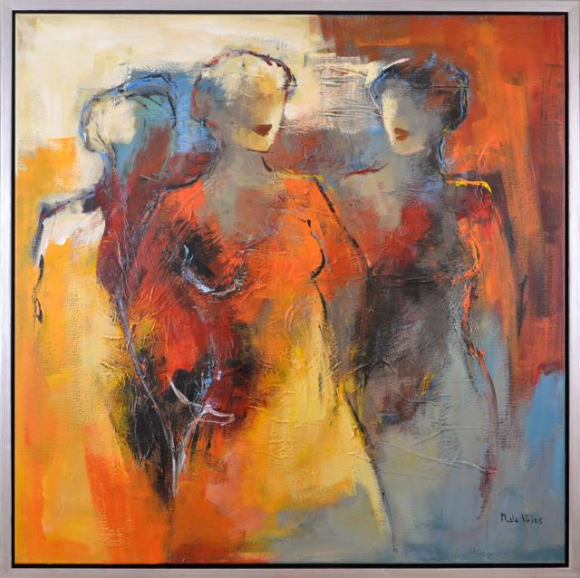 Silhouetten – Maria de Vries – Art center Hoorn