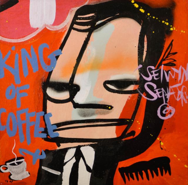 Ten Gangsters No. 9 – Selwyn Senatori – Art center Hoorn