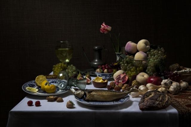 Stilleven met fruit en vis – Jeroen Luijt – Art center Hoorn
