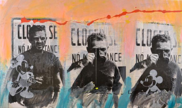McQueen Triple – Ronald Chapeau – Art center Hoorn