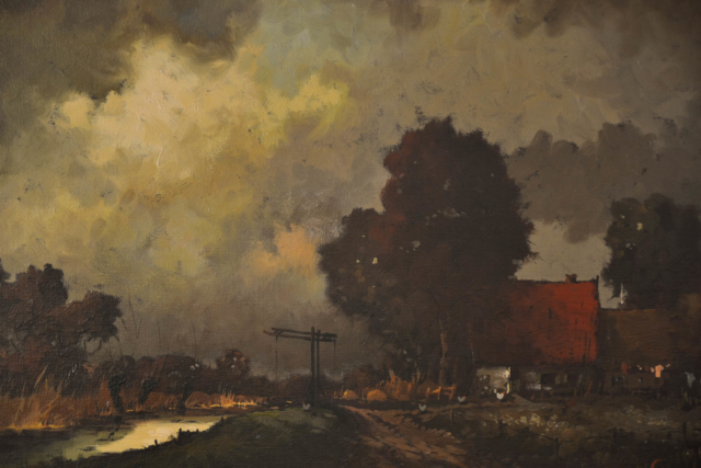 Bij avond – Rob de Haan – Art center Hoorn
