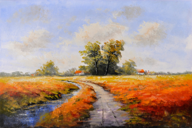 Landschap – Jochem de Graaf – Art center Hoorn
