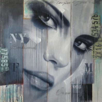 FM crossing NY Boulevard – Hans Jochem Bakker – Art center Hoorn