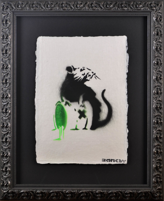 Poison Rat – Banksy – Art center Hoorn
