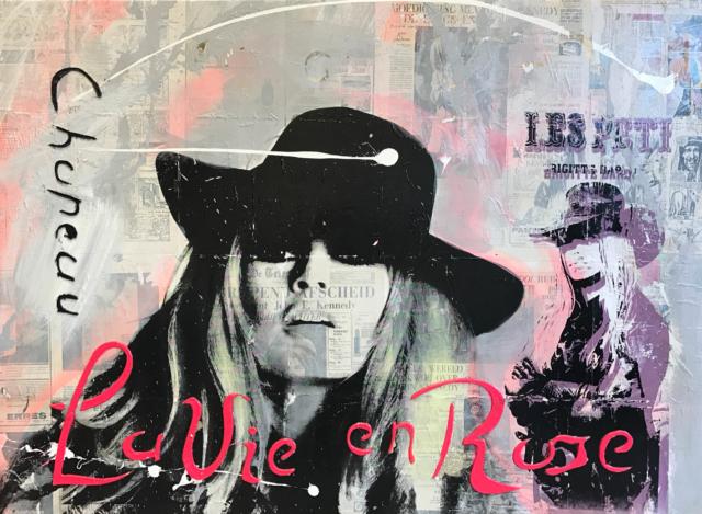 La Vie en Rose – Ronald Chapeau – Art center Hoorn
