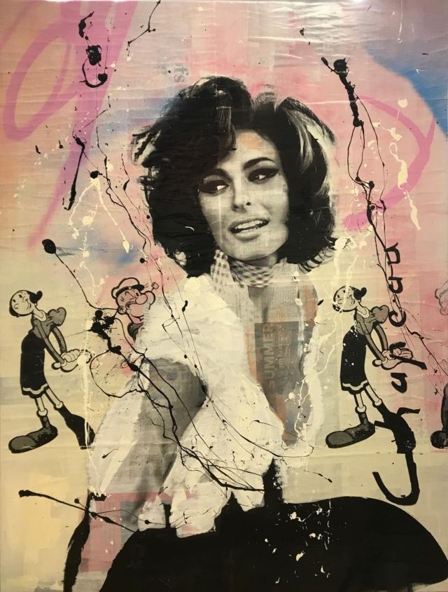 Sophia Loren – Ronald Chapeau – Art center Hoorn