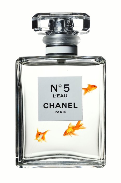 Chanel No. 5 - Goldfish - Hans Pieterse - Art Center Hoorn