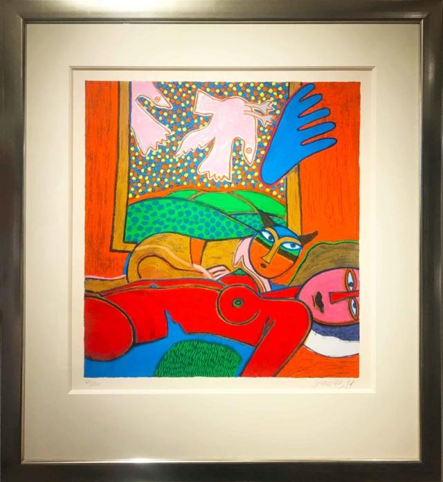 Femme Rouge - Corneille - Art Center Hoorn