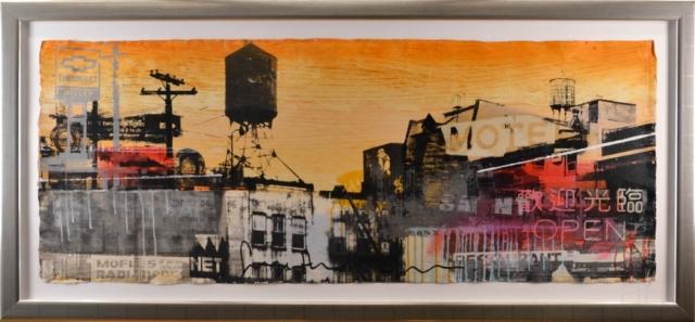 City Motel Orange – George Heidweiller – Art center Hoorn