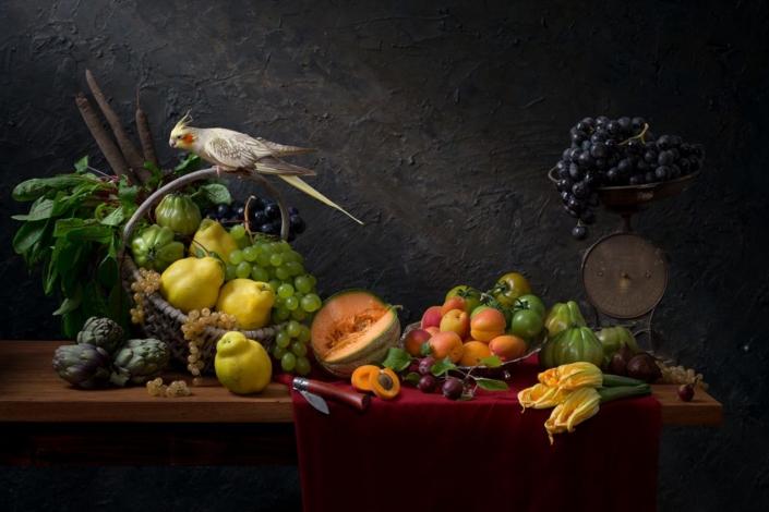 Fruitbasket with quinces - Hester Blankensteijn - Art Center Hoorn