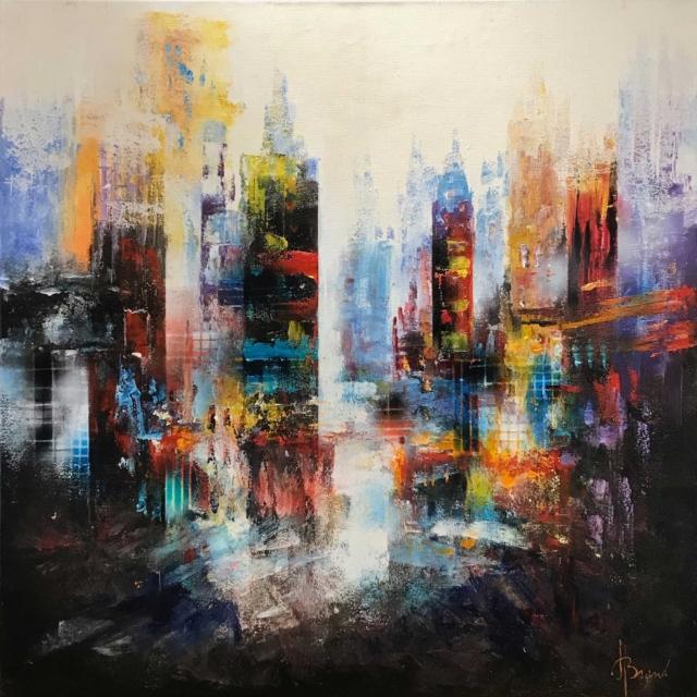 Modern stadsgezicht – Henry Brand – Art center Hoorn