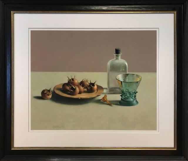 Stilleven met glas en mispels – Henk Helmantel – Art center Hoorn