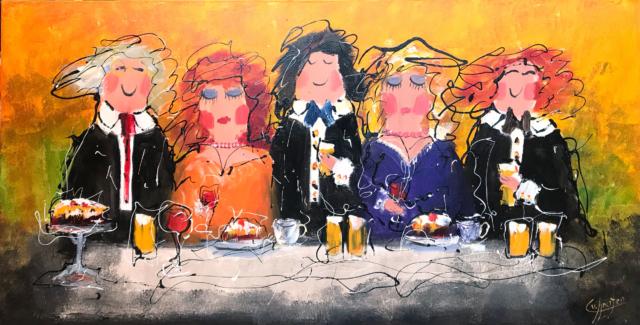 Familiediner - Caspar van Houten - Art Center Hoorn