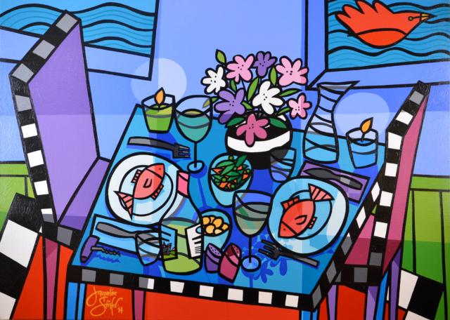 De Oneindig Liefdevolle Tafel – Jacqueline Schäfer – Art center Hoorn
