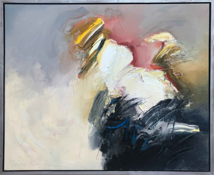 Abstract schilderij - Ton van Kesteren - Art Center Hoorn