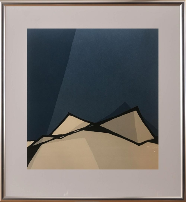 Toiture bleue – Fon Klement – Art center Hoorn