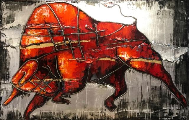 Strijdlust – Lincy Hoogveld – Art center Hoorn