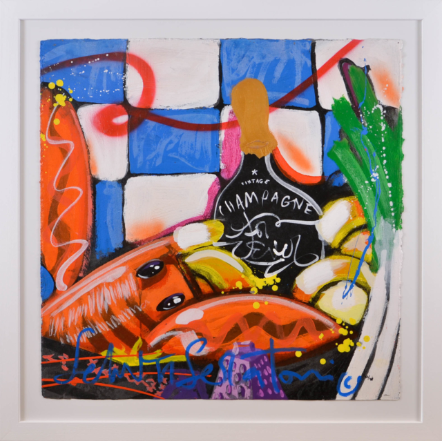 Champagne diner II – Selwyn Senatori – Art center Hoorn