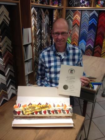 Koos Kenter CGF Gecertificeerd Lijstenmaker Art Center Hoorn