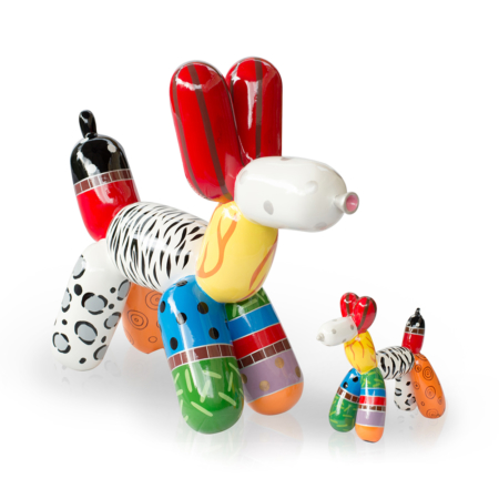 Niloc Pagen Ballon Hond multicolor