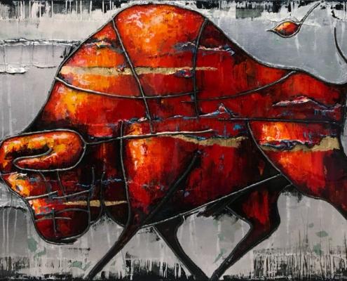 Strijdlust_1 - Lincy Hoogveld - Art Center Hoorn