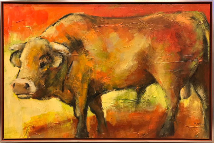 Stier - Maria de Vries - Art Center Hoorn