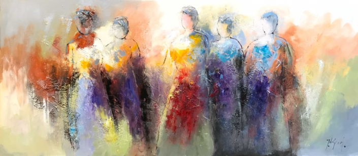 Jochem de Graaf - Silhouetten - Art Center Hoorn