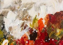 Twan van de Ven - Bloemenveld, abstract - Art Center Hoorn - VEN1002_2