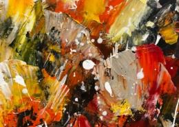 Twan van de Ven - Bloemenveld, abstract - Art Center Hoorn - VEN1003_2