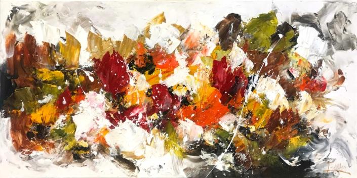 Twan van de Ven - Bloemenveld, abstract - Art Center Hoorn - VEN1005_1