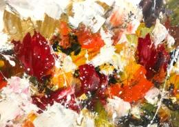 Twan van de Ven - Bloemenveld, abstract - Art Center Hoorn - VEN1005_2