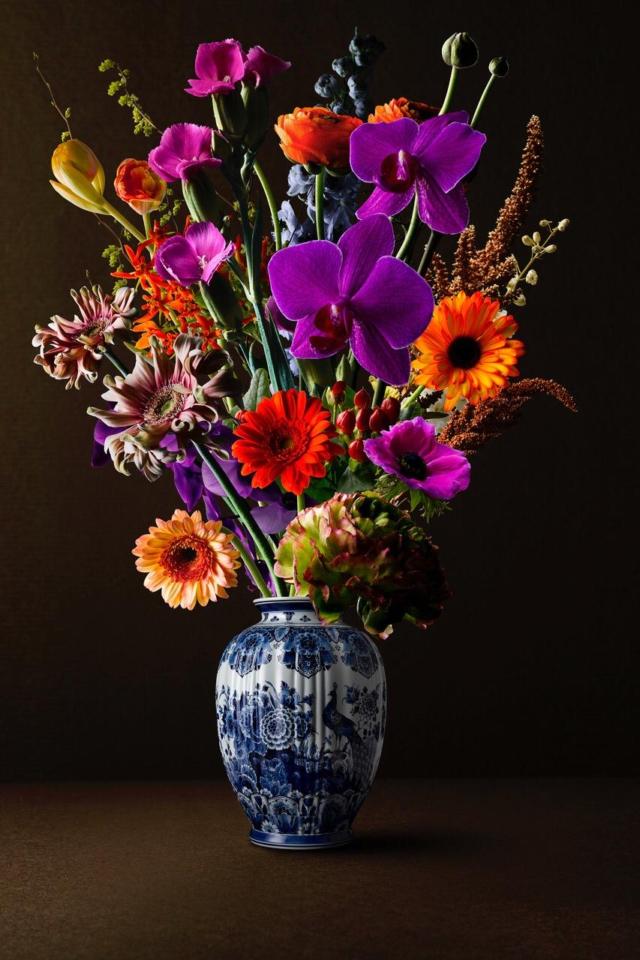 Royal Flowers - Bloemenfotografie - Hans Pieterse - Art Center Hoorn