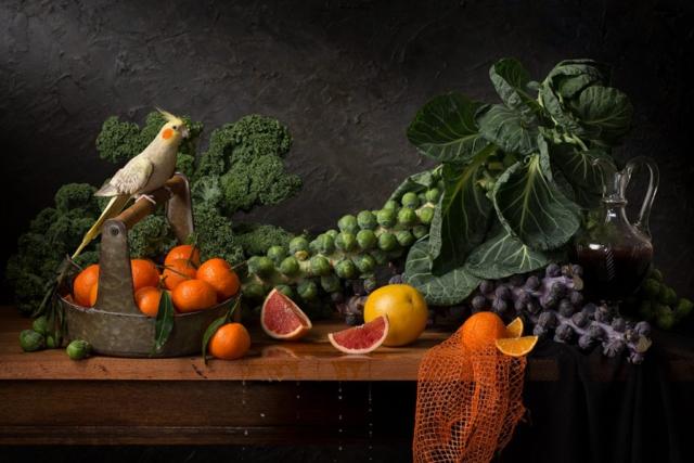 Citruses and Brussels Sprouts - Hester Blankensteijn - Art Center Hoorn