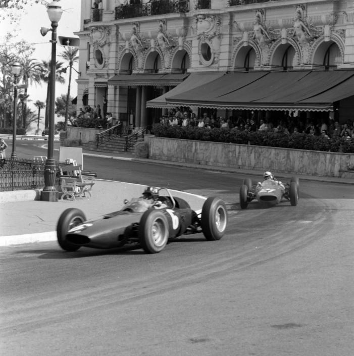 Sport fotografie - F1 monaco 1963 - Art Center Hoorn