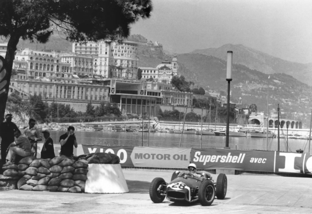 Sport fotografie - F1 monaco 1960 - Art Center Hoorn