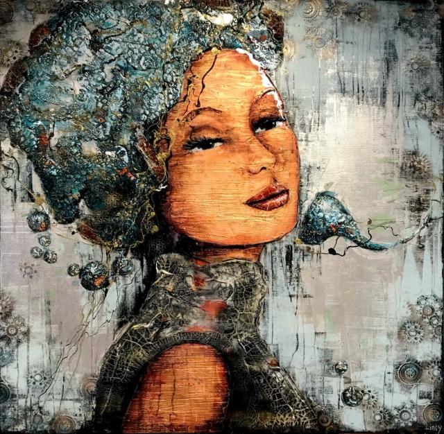 Lincy Hoogveld - Queen - Art Center Hoorn, foto 1