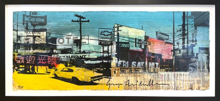 George Heidweiller - City Motel Blue - Art Center Hoorn