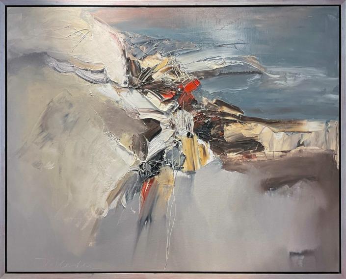 Ton van Kesteren - Abstract olieverf - Art Center Hoorn